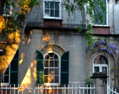 Travel Photography - Evening Shadows In Charleston - South Carolina, Nature, Landscape, Southern, Architectural, Fine Art Photography