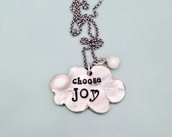 Choose Joy Necklace | Personalized Daughter Necklace | Handcrafted Sister Jewelry | Christmas Gifts for your Best Friend | Customized