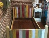 Wood Single Bed