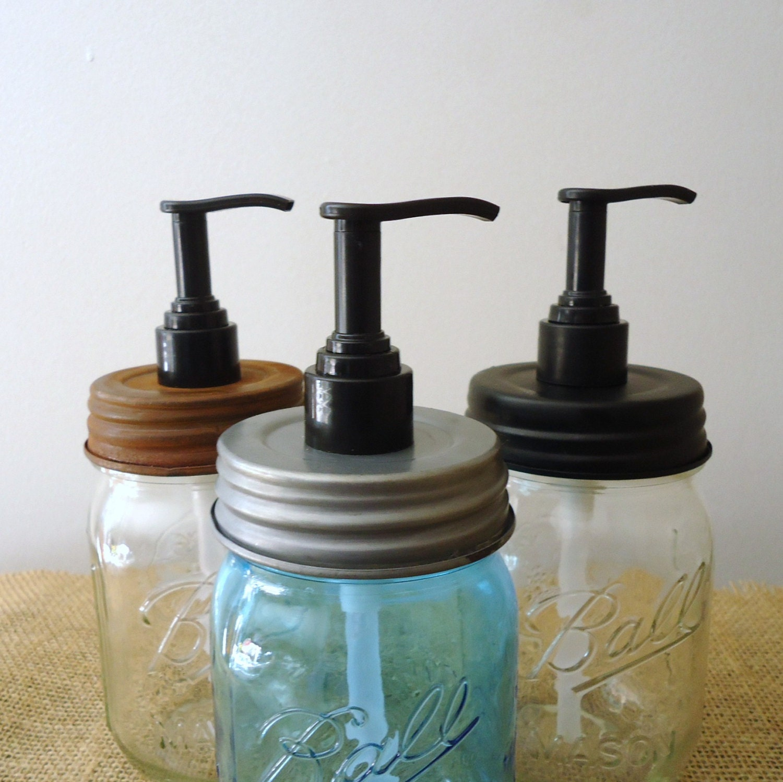 Lotion Pumps For Mason Jars Mason Jar Lids Soap Pump For