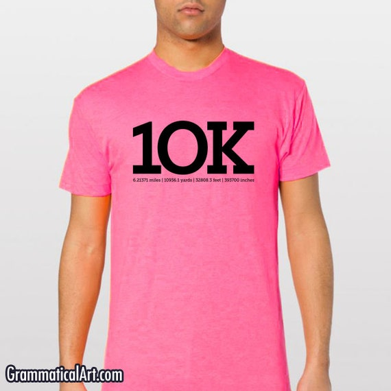 Mens running shirt 10k shirt 10k running shirt by for I run for meg shirts