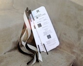 Modern Chic Wedding Programs with Ribbon Wands - Deposit