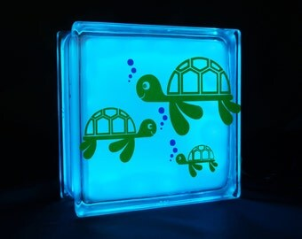 Cute turtle night light for kids