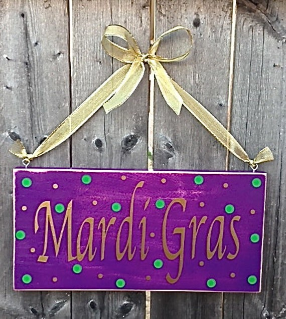 Items similar to mardi gras home decor celebration sign on for Best home decor on etsy