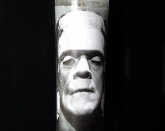 Frankenstein Prayer Candle