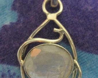 GET 15% OFF Moonstone Sterling Silver Pendant