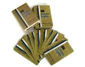 Vintage Playing Cards, Golden Lights Cigarettes, Gold and Blue, Bridge Cards, Vintage Game, Promotional, Scrapbooking, Poker Cards