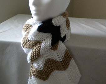 Knit SCARF PATTERN- Chichi Chevron