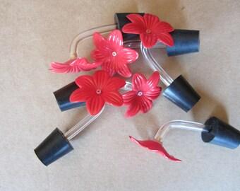 Hummingbird feeder tubes set of 6 + 2 free(8 pcs)