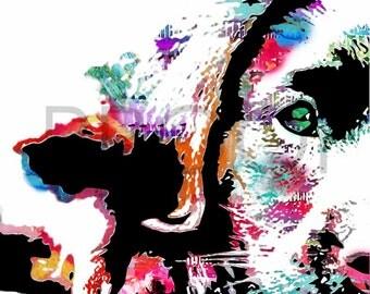 Labrador Retriever || Riley the Lab || Dog Art || Watercolor