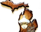 Michigan Bottle Opener for Bar or Home