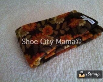 Sale 50% Off, L, Toddler Size 2/3, Meadow Flowers Fleece Longies