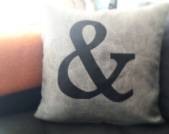 Ampersand Pillow Case