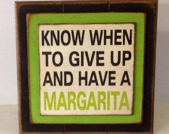 Margarita Sign