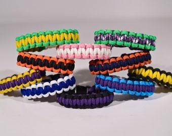 2 Color Paracord Bracelet