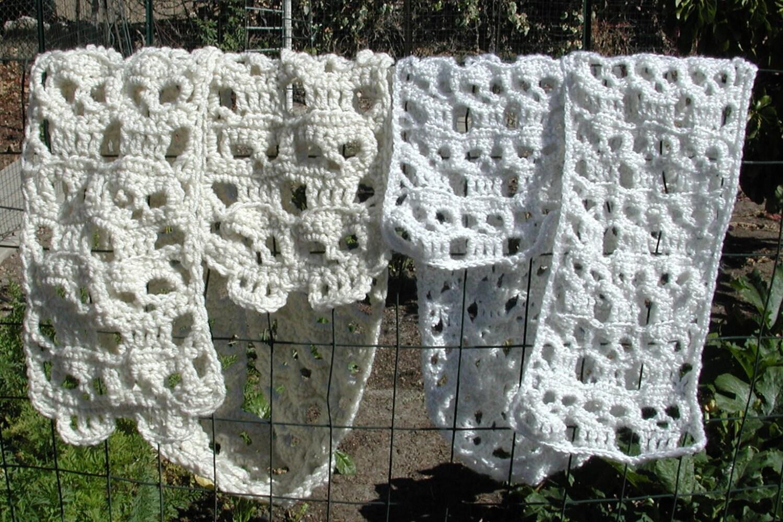 PDF Creepy Skulls Crochet Day of the Dead Scarf Calaveras
