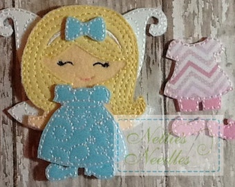 Little Nell: Felt Fairy Doll Set