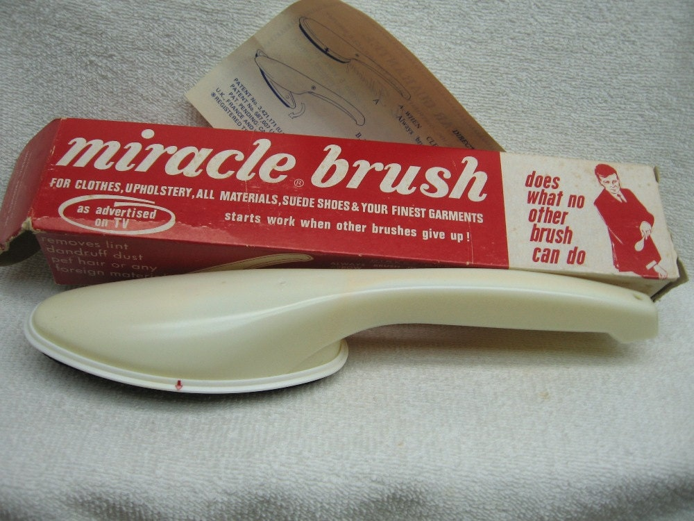 Miracle Brush Clothes Upholstery Suede Shoes Lint Remover Dust