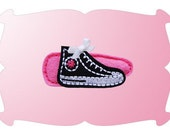NO Slip Felt Hair Clip- GIRLY SNEAKER