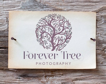 Custom Business Logo -  Hand Drawn Tree Logo
