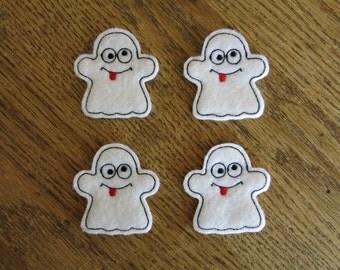 Silly Ghost, set of 4, Felties
