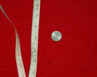 "1yard 5""x42""w Red Stretch Velvet lycra Fabric Ribbed Velvet fabric Sample 4 way stretch fabric Red velvet fabric Red velvet Chenille fabric"