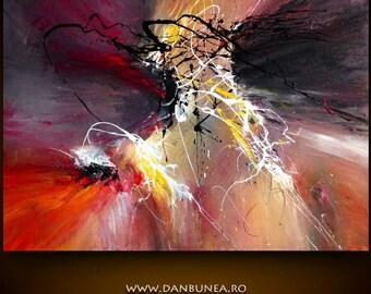 SECRET BOND, acrylics on canvas, 70x100cm