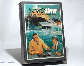 Breakthru Strategy Game from 3M 1965 COMPLETE (read description)