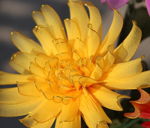Chrysanthemum Nylon Flowers Wedding on Ideas For Using Chrysanthemum On First