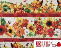 Harvest Abundance Stripe Fabric