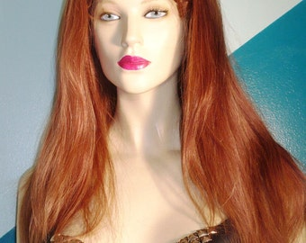 Full Lace Wig Wigs 100% Human Indian Remy Remi #33/8 Mixed Straight Hand Tied Choose Length and Texture