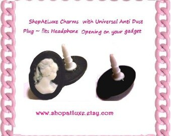 Cameo Dust Plug In Ebony And Ivory