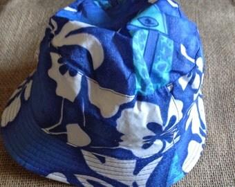 Baby and Toddlers Hawaiian Print Summer Hats
