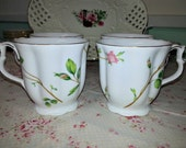 Rose stem coffee mugs from Nantucket (Made in China)