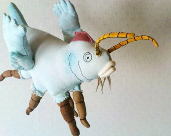 Soft Sculpture Textile Art  Animal Sculpture