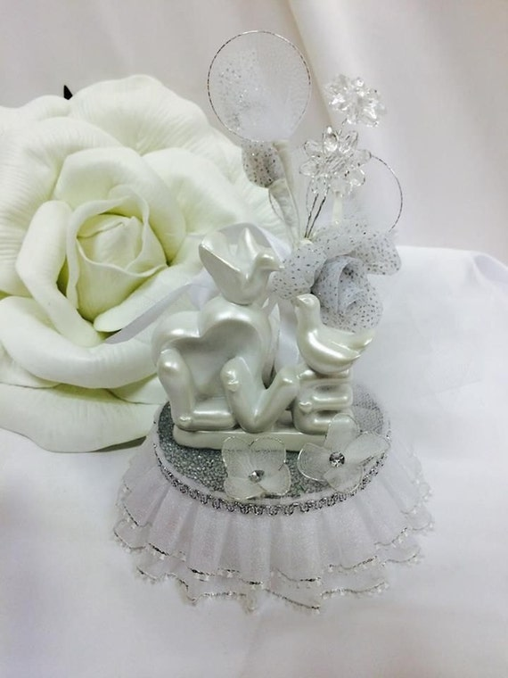 dove wedding cake toppers doves wedding cake topper centerpiece favor decoration 13713