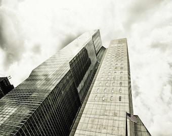 New York Photography - Skyscrapers, Manhattan, New York - 8x10 photo