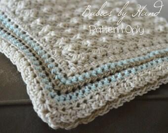 Baby Blanket Crochet Pattern, Baby Afghan Pattern, Baby Crochet Pattern, Blanket Crochet Pattern, Beginners Crochet Patern, Blanket Pattern