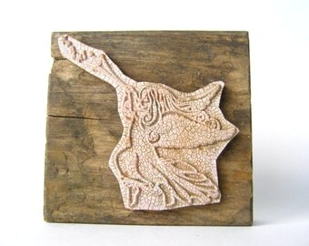 vintage rubber stamp - large