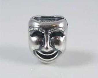 """Pandora Sterling Silver """"The Worlds a Stage"""" Charm"""