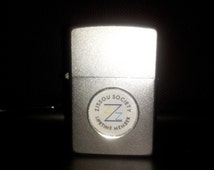 Limited Edition Zissou Society Member Silver Zippo Lighter