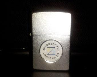 Limited Edition Zissou Society Member Silver Zippo Lighter