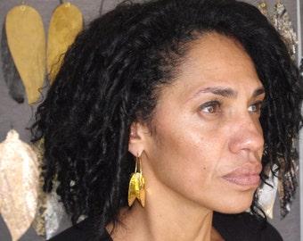 Afrocentric  Fulani Medium Earrings