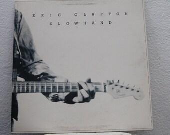 "Eric Clapton - ""Slowhand"" vinyl record ft. ""Wonderful Tonight"""