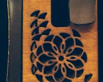 Rose Window Folding Wallet