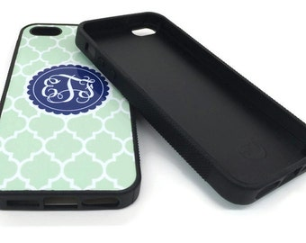 Monogram iPhone Cases -Personalized Phone Cases- iPhone 4, 5, & iPhone 6/6S and iPhone 7