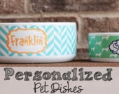 Personalized Pet Dish