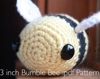 3 Inch Bumble Bee PDF PATTERN