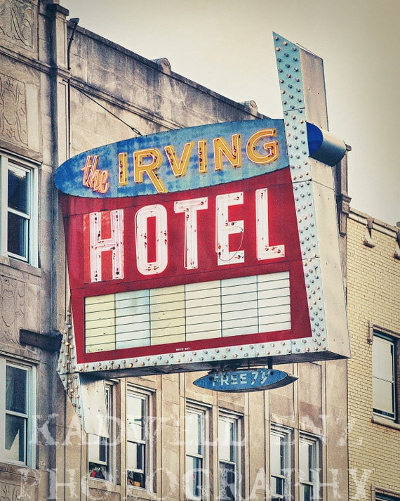 Chicago photography the irving hotel midcentury modern fine for Irving hotel chicago
