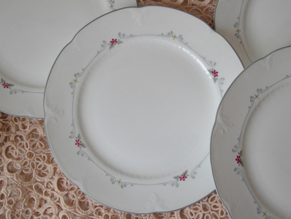 collier dessert plate villeroy boch bone china dish white delicate. Black Bedroom Furniture Sets. Home Design Ideas